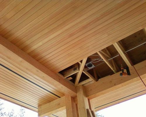 Wood Soffit Detail