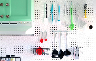 8 Inventive Ways to Use a Pegboard