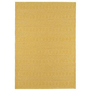 Sloan Mustard Rectangular Rug, 200x300 cm
