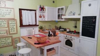 Cucina Shabby  Pastello