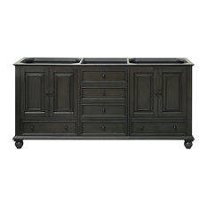 "Avanity Thompson 72"" Vanity Only, Charcoal Glaze Finish"