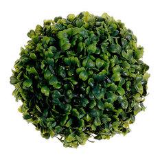 Silk Plants Direct Boxwood Orb, Set of 12