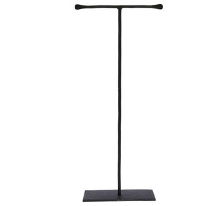 aa31ec5c6 Black Metal Forged Iron Jewelry Stand Hanger, Tall 16