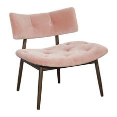Sunpan Marit Lounge Chair, Pink