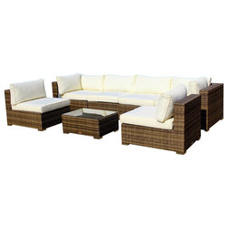 Contemporary Outdoor Lounge Sets by MangoHome