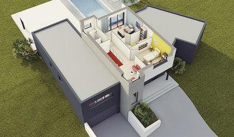Modèle de maison contemporaine