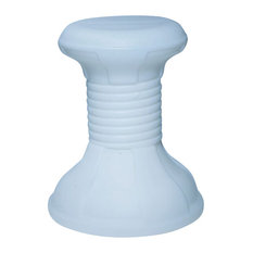 Pool Stool, White