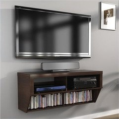 What About Mounting A Media Stand On The Wall Under The Tv? Do You Have A  Photo Of The Wall Where Tv Is Going? That Will Get You More Replies.