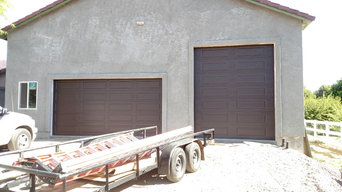 Chocolate Steel-back Doors