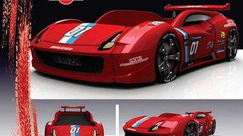 łóżko auto samochód Speed