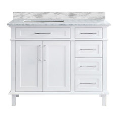 "Newport 42"" Bathroom Vanity, White"