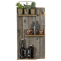 Farmhouse Display And Wall Shelves  by Del Hutson Designs
