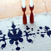 Inkblot Table Runner