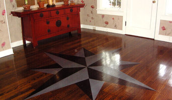 compass rose on entry floor