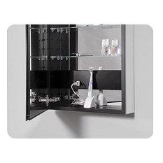 """PLM2440 PL Series 23.25""""x39-3/8"""" Medicine Cabinet With Flat Door, Left"""