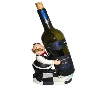 Contemporary Wine Holder Waiter
