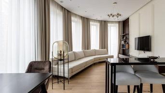 Ремонт двухкомнатной квартиры в ЖК Садовые кварталы