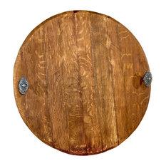 Barrel Head Cutting Board