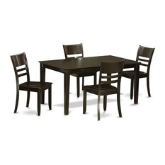 5-Piece Dining Room Set Kitchen Table And 4 Dining Chairs