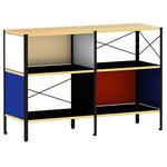 Herman Miller - Eames Storage Unit by Herman Miller, 2x2, Vibrant, Black - Product Options:
