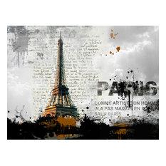 Modern Eiffel Tower, Acrylic Print