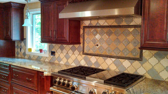 Arabesque Custom Backsplash