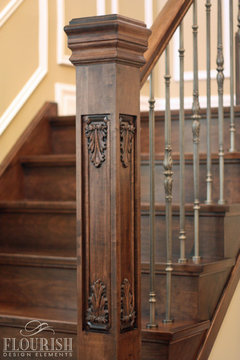 Wrought Iron Or White Wood For Stair Remodel