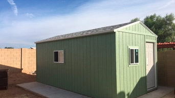 We have the appropriate sheds for you.