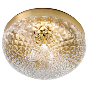 Rays Ceiling Lamp, Gold