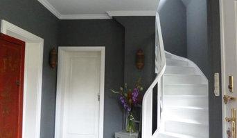 NACHHER: Gestaltung Eingangsbereich & Treppenhaus & 1.Etage