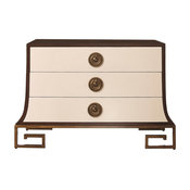 Sabre Chest, Ivory and Walnut