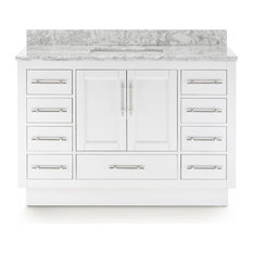 Kendall Vanity With Plinth Base, White, 48""