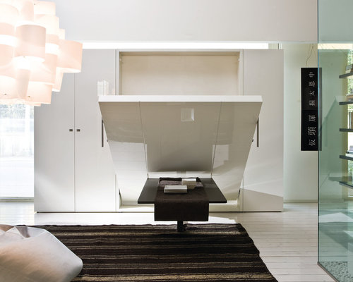 Wall bed space saving solutions for Space saving bed solutions