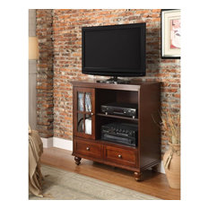 Convenience Concepts Tahoe Highboy TV Stand in Espresso Wood Finish