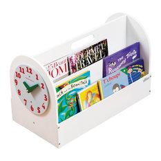 Tidy Time Children's Book Box, White