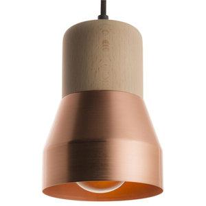 Copper Thinkk Pendant Lamp, Beechwood