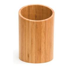 Lipper International   Bamboo Tool Holder (Angled Lip)   Utensil Holders  And Racks