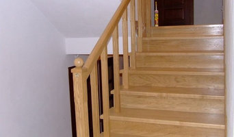 Spraying Services - Clear Lacquer - Staircase