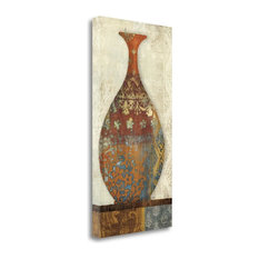 """""""Indian Vessels II"""" By Moira Hershey, Giclee Print on Gallery Wrap Canvas"""