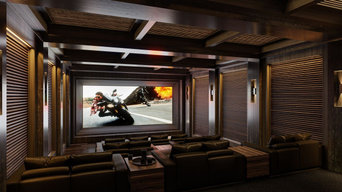 Aspen, CO Dedicated Home Theaters by DEGOrender