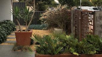 Front Garden of Marlborough St, Brighton.