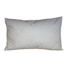"""Pillow Decor, Feather, Down Pillow Insert, 12""""x20"""""""