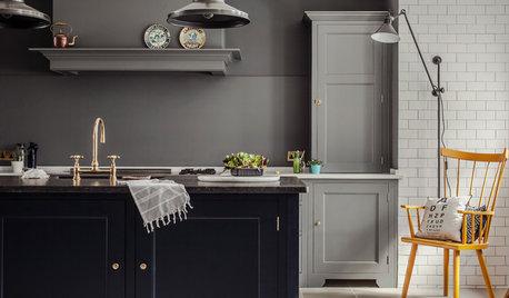 Ge ett modernt kök själ med återvunna vintagedelar