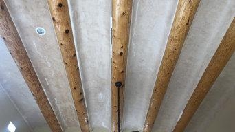 Barrel Cieling W/Italian plaster