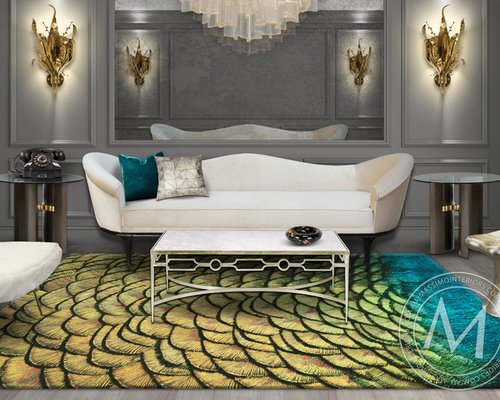 PAVONE - from the Esotica Rug Collection - Floor Rugs