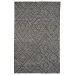 Capel Rugs - Fortress-Jewel Hand Knotted Rectangle Area Rug, 3'x5' - The Jewel style is a member of our Fortress collection, transitional rug design from Capel Rugs.