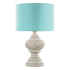 Dimond Kokopo Outdoor Table Lamp With Sea Green Shade