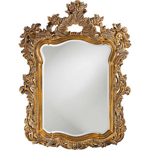 Howard Elliott Turner Antique Gold Mirror