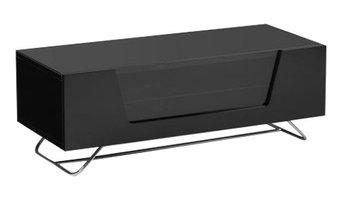 Chromium TV Unit, Black, 100 cm