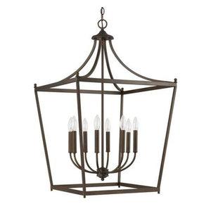 Capital Lighting Stanton 8-LT Foyer 9553BB - Burnished Bronze